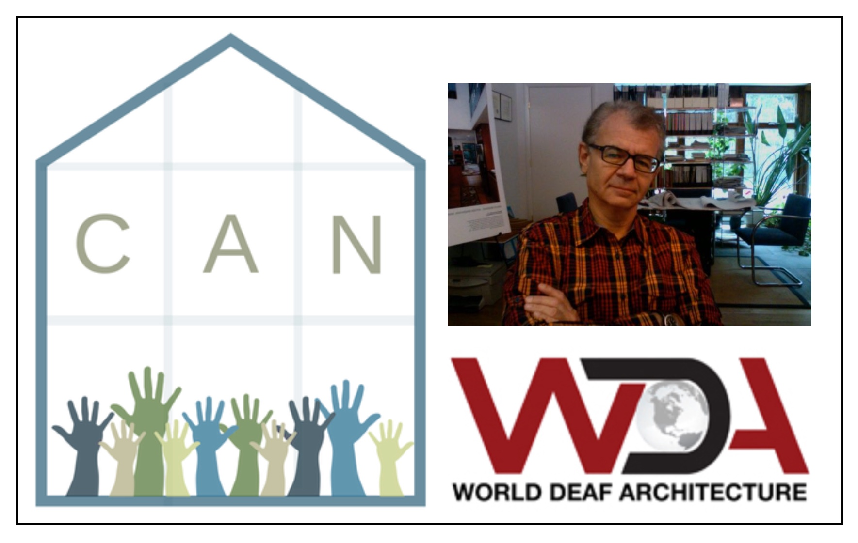 Robert Nichols presents World Deaf Architecture @ Five Loaves