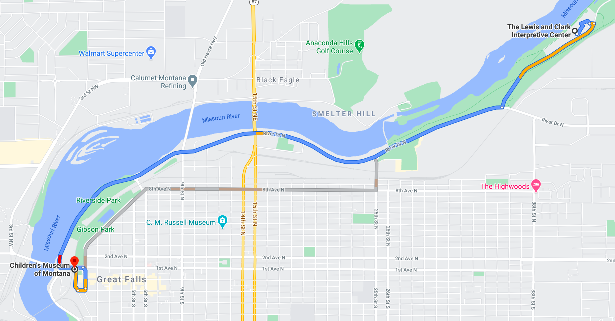 Sol Fest 2020 Hike on River's Edge Trail @ Lewis and Clark Interpretive Center
